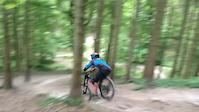 RAF Downhill Team Training - B1KE Aston Hill