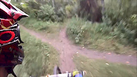 GoPro: ALain going Downhill in Helen's Trail,...