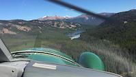 Landing on Spruce Lake