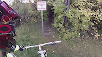 Edmonton Mountain Biking: Lovers Lane Trail,...