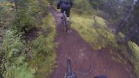 Wet trails bite quickly.