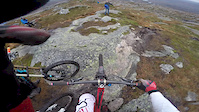Extremly muddy ride in Tjørhom! :D