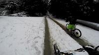 Burke mtn in the snow