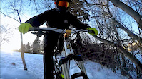 GoPro: Winter Mountain Biking Jan 9, 2016