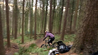 Path gap/jump at esholt