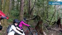 Taylor riding Flow motion at Sandy Ridge