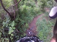 Quick run down Mill Mountain