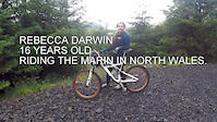 Rebecca Darwin on the Marin, Wales.
