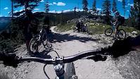 Backflip in Trestle Bike Park