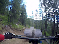 13 Yr Old On Lower Log Jammin at Silver Mountain