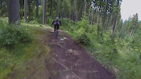Short clip from Malino Brdo - helmet cam