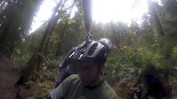 Home made gopro helmet swival