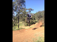 Jumps at Goat Farm mtb