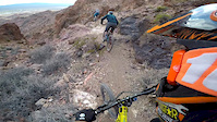 Crash on Ginger trail,Bootleg canyon,Boulder...