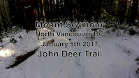 John Deer Trail in the snow - January 5th 2016