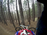 Riding Blago Trails