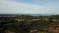 Drone kinda day. The Luge Trailhead (Santiago...