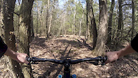 Test runs on the new loamy enduro trail