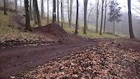 Dzikowiec road gap