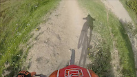 full GoPro run DH line