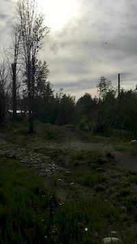 Flow line in Fox Creek Skills Park