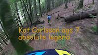 Kat Carlsson age 7