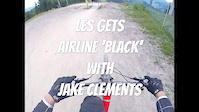 Les Gets black airline
