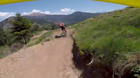 Riding the Vallnord WC Track On My Enduro...