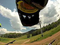 First Time At Park CIty Bike Park Canyons...