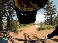 First Time a Park City Bike Park Canyons...