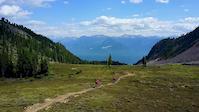 Alpine Riding at Kicking Horse Bike Park