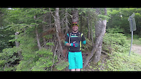 Neilson Trail start & meeting Tommy Paquet