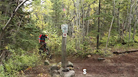 Carcross Yukon mountain biking - Summer 2017
