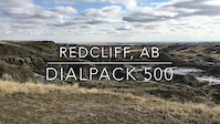 Trail video of Dialpack 500 in Redcliff, AB