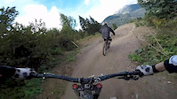 run down the new serpentine Bikepark Châtel