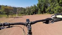 Lomo trail Durzano Bike Park, Santiago Chile