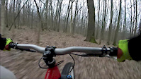 Fun ride in trails
