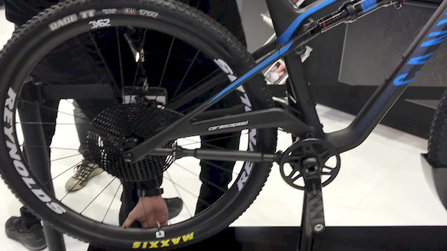 CeramicSpeed Unveil Prototype Telescoping MTB Drivetrain - Eurobike 2019 - Pinkbike
