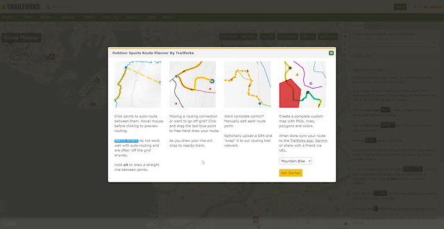 Trailforks MTB Route Planner