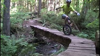 9 year old mountain Unicyclists on Squamish XC...