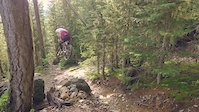 Jesse Melamed rides Whistler Steeps