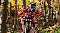 John Lefrancois riding in Bromont