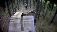 Moose mtn trails helmet cam footy