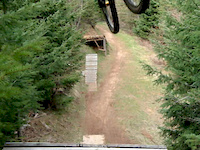 barn door drop to booter