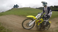 Riding at Nathan's MOTO Track