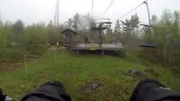 Raining on Highland 2014 muddy conditions