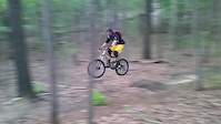 Jumping the Windrock XC Trails