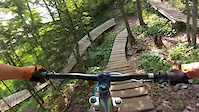 Copper Harbor Mountain Biking 2014