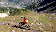 MTB downhill of Les Grands Prés, Serre...