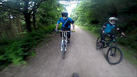 Flatlands into Ski Run Chase - Forest of Dean...